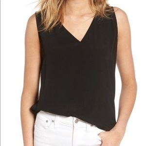 Madewell Daybloom Popover Crepe Swingy Tank
